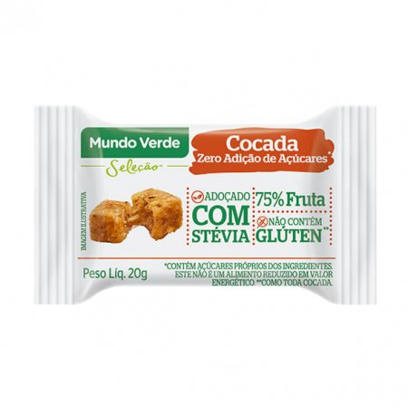 Cocada Zero MV Seleção 20g