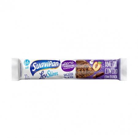 Barra Suavipan ameixa, coco e chocolate 20g