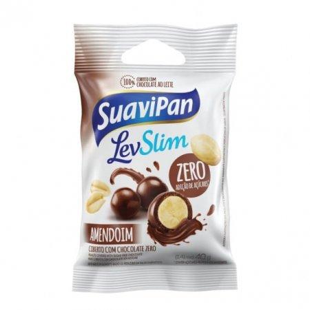 Amendoim Suavipan Drageado coberto com chocolate zero 40g