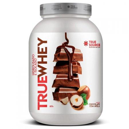 True Whey Protein de Chocolate com Avelã - 837g - True Source