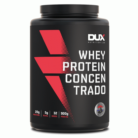 Whey Protein Concentrado – Cookies – 900g – DUX