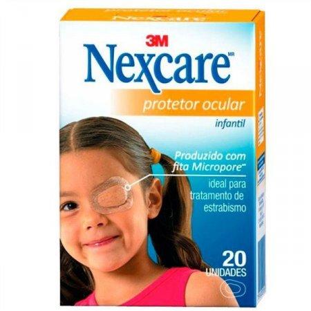 Protetor Ocular Infantil Nexcare 20 Unidades