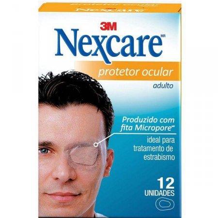 Protetor Ocular Adulto Nexcare 12 Unidades