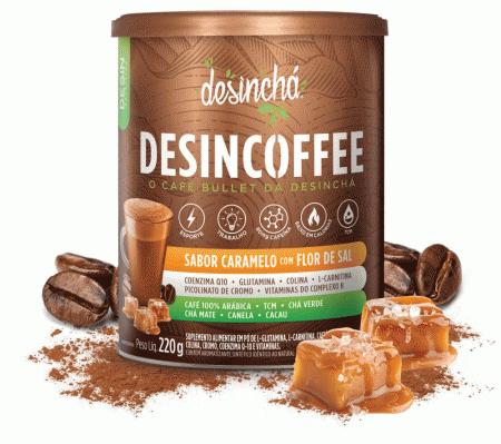 Desincoffee - Caramelo com Flor de Sal - 220g - Desinchá