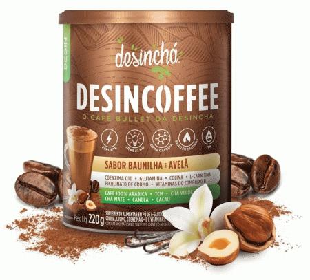 Desincoffee - Baunilha com Avelã - 220g - Desinchá