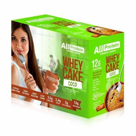Whey Cake de Coco All Protein (Caixa com 12 Saches de 30g) 360g