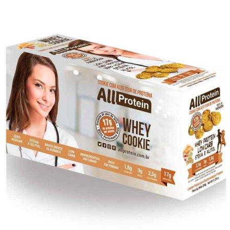 Whey Cookie de Pasta de Amendoim All Protein (Caixa com 8 unidades de 40g) 320g