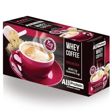 Whey Coffee All Protein - Café proteico Mocaccino 625g (Caixa com 25 doses)