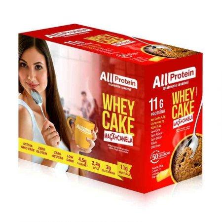 Whey Cake de Maçã com Canela All Protein (Caixa com 12 Saches de 30g) 360g