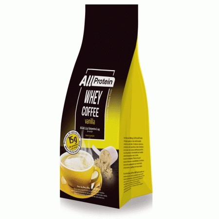 Whey Coffee Vanilla All Protein 300g (Pacote com 12 doses)