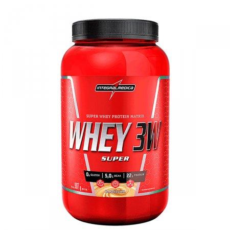 Whey Protein Super 3W Baunilha Integralmédica Pote - 907g