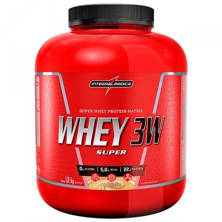 Whey Protein Super 3W Baunilha Integralmédica Pote - 1,8 kg