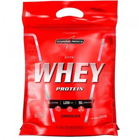 Whey Protein Nutri Chocolate IntegralMédica Refil - 1.8 Kg