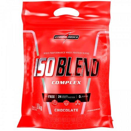 Whey Protein Iso Blend Complex Chocolate Refil IntegralMédica - 1.8Kg