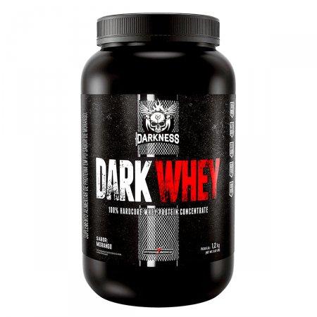 Whey Darkness 100% Concentrado Morango IntegralMédica - 1,2Kg