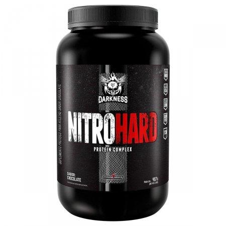 Whey Nitro Hard Darkness Chocolate IntegralMédica - 907g