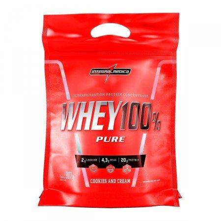 Whey Protein 100% Pure Cookies And Cream IntegralMédica Refil - 907g