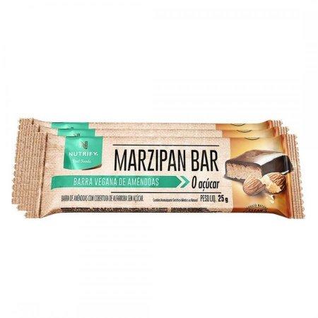 Barra vegana de amendoas - marzipan bar (1 unidade 25g)