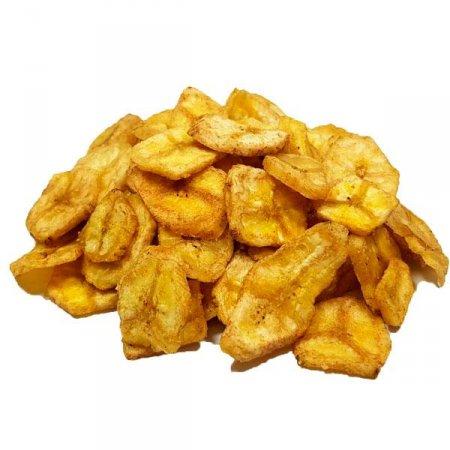 Banana Chips com Canela e Açúcar (Granel 100g)