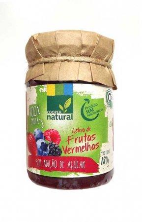 Geleia Orgânica Frutas Vermelhas Zero Coopernatural 180g