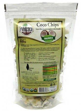 Coco Chips Orgânico Finococo 80g