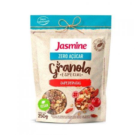 Granola Zero Açúcar Superfrutas Jasmine 250g