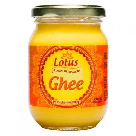 Manteiga Clarificada Ghee Lotus 200g