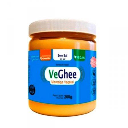 Manteiga Ghee Vegana Sem Sal Veghee 200g