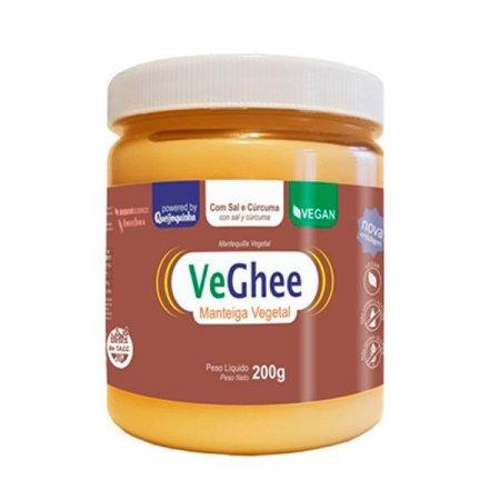 Manteiga Vegana Veghee com Sal e Cúrcuma 200g
