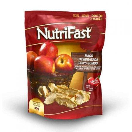 Chips de Maçã em Gomos Nutrifast 40g
