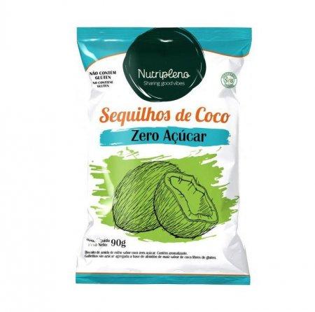 Sequilhos de Coco Zero Açúcar Nutripleno 90g
