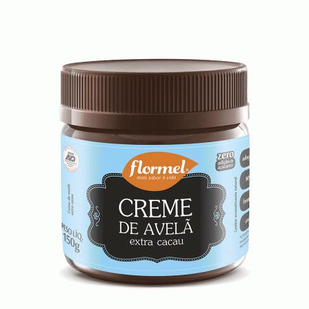 Creme De Avela Flormel Zero açucar Extra Cacau 150g