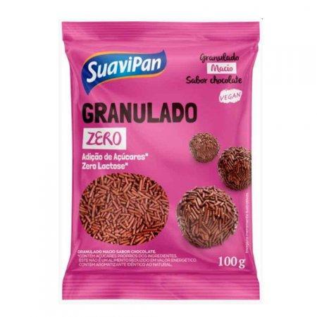 Granulado Chocolate Zero Suavipan 100g