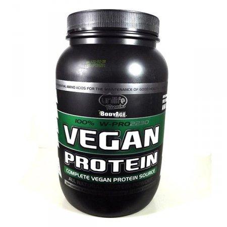 Whey Vegan Protein 100% Natural Sabor Chocolate Unilife 900g