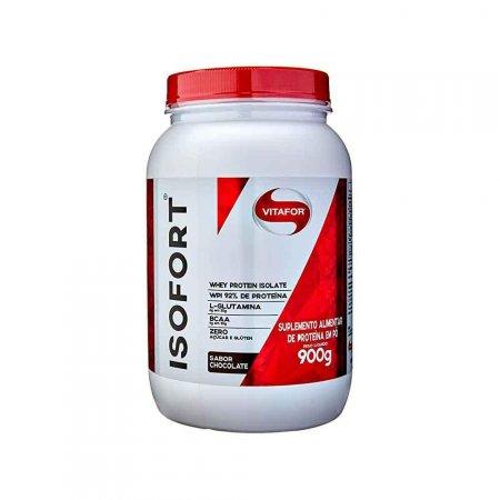 Whey Protein Sabor Chocolate Isofort Vitafor 900g