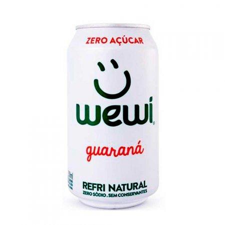 Refrigerante All Natural Super Zero Guaraná Wewi 350ml