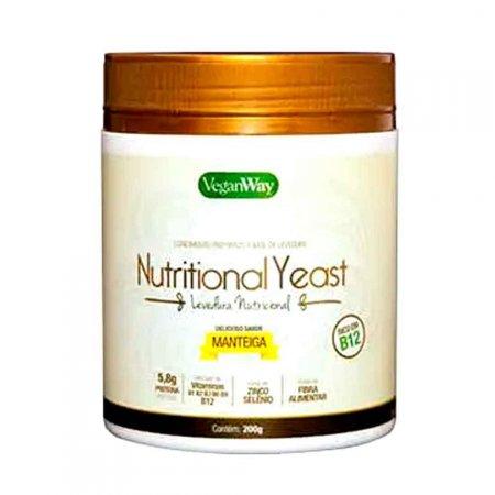 Levedura Nutricional Sabor Manteiga VeganWay 200g