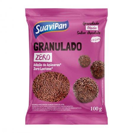 GRANULADO MACIO SABOR CHOCOLATE / ZERO AÇÚCAR / ZERO LACTOSE 100g
