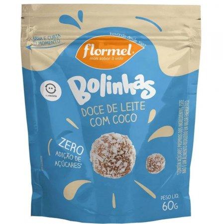 Bolinha de Doce de Leite com Coco Zero Açúcar 60g Flormel