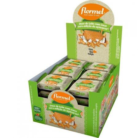 Doce de Leite com Coco Zero Açúcar 24 unidades Flormel