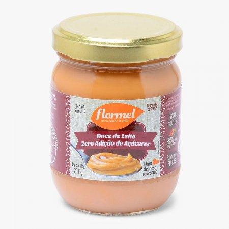 Doce de Leite Cremoso Zero Açúcar 210g Flormel