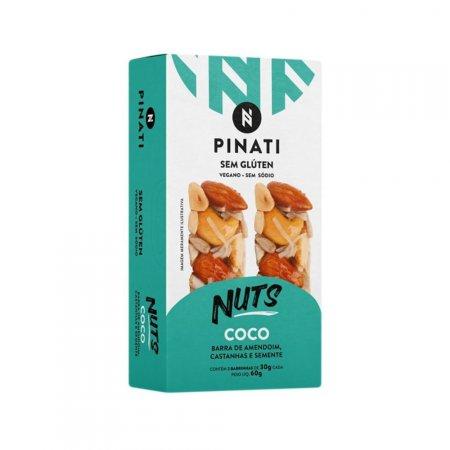 Barra Nuts Coco 30g 12 unidades Pinati
