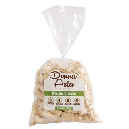 Biscoito de limão zero açúcar Donna Asta 250g