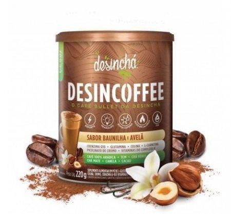 Chá Desincoffee Baunilha e Avelã 220g DesinChá