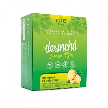 Chá Abacaxi com Limão Siciliano 30 Sachês DesinChá