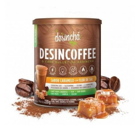 Chá Desincoffee Caramelo com Flor de Sal 220g DesinChá