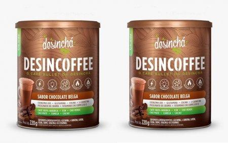 Kit 2 Desincoffee Chocolate Belga 220g DesinChá