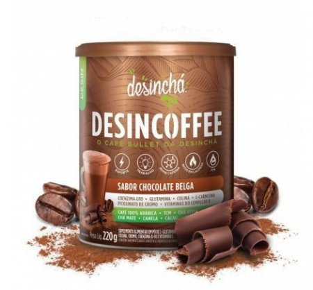Chá Desincoffee Chocolate Belga 220g DesinChá