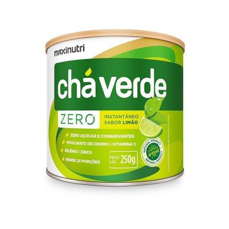 Chá Verde Zero com Limão 250g MaxiNutri