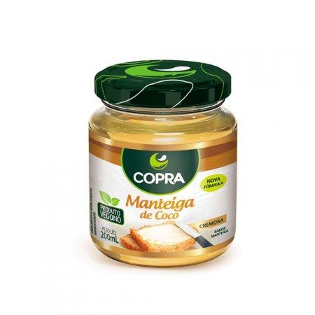 Manteiga de Coco Tradicional 200g Copra